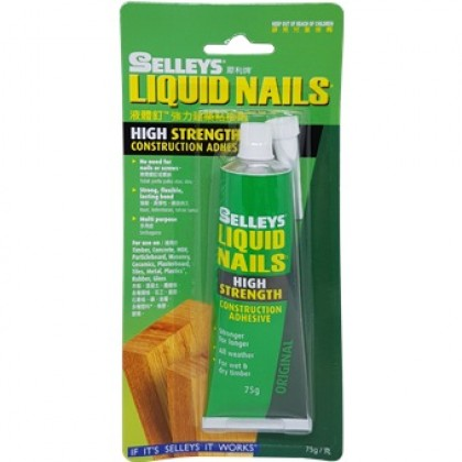 Selley Liquid Nail High Strength Construction Adhesive High Strength Super Glue